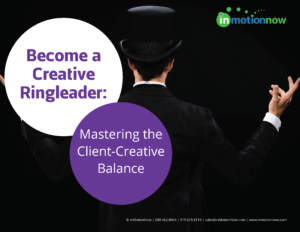 become a creative ringleader